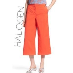Halogen Orange Spice Wide Leg Pant 4